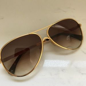 Wildfox Airfox 2 Aviator Sunglasses